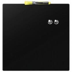 NOBO Quartet Tableau magnétique carré noir 360x360 mm