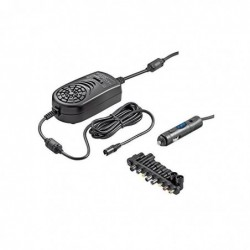 GOOBAY 15-24 V Universal Power Supply for cars, black - including 14 DC Adapter - max. 150,0 W and 8,5 A 15-24 V Universal P...