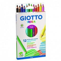GIOTTO Etui de 12 crayons...