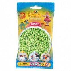 HAMA sachet de 1000 Perles à repasser midi 5mm Vert pastel