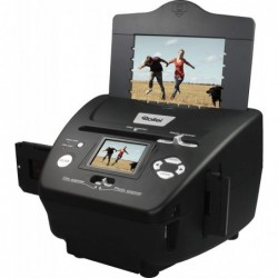 ROLLEI PDF-S 240 SE Scanner 5.1 méga pixels pour diapos, négatifs et photos Noir