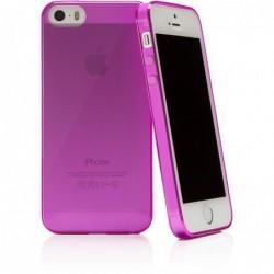 CASEUAL Coque Fine Flexo Slim pour iPhone 5/5S Rose
