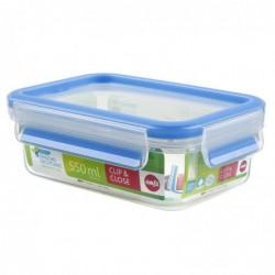 EMSA boîte alimentaire hermétique CLIP & CLOSE, 0,55 litre, transparent