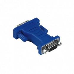 HAMA Adaptateur VGA-DVI DVI...