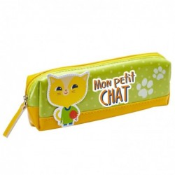 DRAEGER Trousse Mon Petit Chat  Jaune