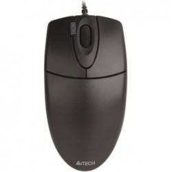 A4 TECH Souris optique V-track USB 800 Dpi filaire 2 boutons+double click & molette noir