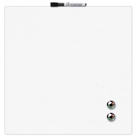 NOBO Quartet Tableau magnétique carré blanc 360x360 mm