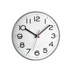 TFA-DOSTMANN Horloge Murale 30 cm Blanc