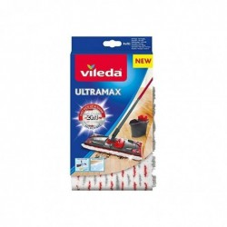 VILEDA Recharge Balai à Plat Officielle Compatible UltraMax/Ultramat/1.2.Spray
