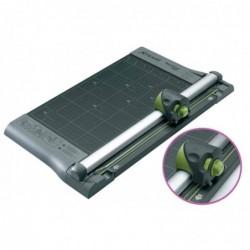 REXEL SmartCut A425 coupeuse 4 en 1 coupe droite ondulée prépliage prédécoupage 10 feuilles A4
