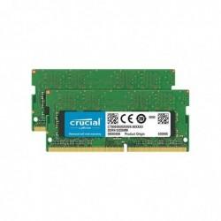 CRUCIAL 16GB DDR4 2400 MT/s Kit 8GBx2 SODIMM 260pin pour Mac
