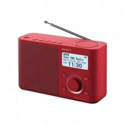 SONY XDR-S61DR Radio Portable Digitale DAB+/ FM RDS Rouge