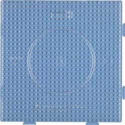 """HAMA Plaques pour perles midi """"grand carré"""" 14 cm Transparent"""