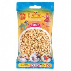 HAMA Sachet de 1000 Perles à Repasser Midi 5 mm Beige