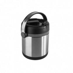 EMSA Récipient Alimentaire Mobility 1,2L Chaud 6h Froid 12h Acier PP Noir anthracite