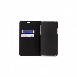 """HAMA Étui portefeuille """"Slim"""" pour iPhone X, noir"""