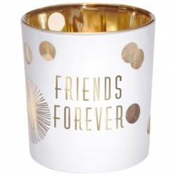 DRAEGER Photophore Friends forever Blanc et or