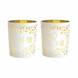 DRAEGER Photophores I love you You&Me Blanc et or