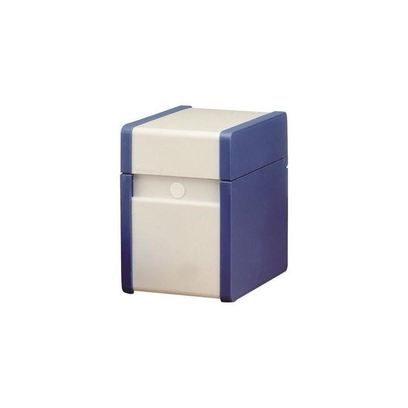 NOBO Boîte à fiches Provence A5 En Hauteur Bleu cobalt