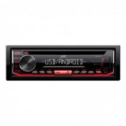 JVC KD-R492 Autoradio CD - USB Android Noir Rouge