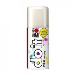 MARABU Flacon Peinture Aérosol 150 ml do it PEARL, blanc nacré
