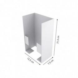 FRANZ MENSCH Support Distributeur pour gants jetables Acier Anti Rouille L 13 cm Livré Vide