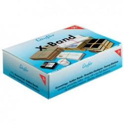 LÄUFER Bte 500g Elastique X-bande 150 x 11 mm Coloris Assorti