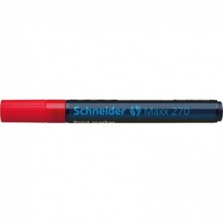 SCHNEIDER Marqueur peinture Maxx 270 Pte Ogive 2-3 mm rouge