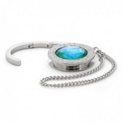 Accroche sac à main design diamant (Vert C9)