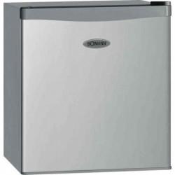 BOMANN Mini-réfrigérateur KB 389, avec congélateur, argent