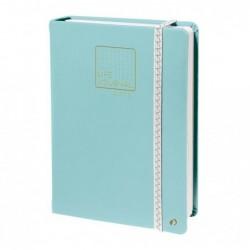QUO VADIS CARNET 21 DOTS Life Journal Format A5 Vert d'eau