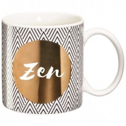 DRAEGER Mug cadeau Zen Blanc