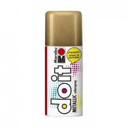 MARABU Peinture Aérosol do it METALLIC 150 ml Or Rouge métallique