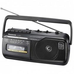 PANASONIC RX-M40DE-K Radio Cassette Mono Secteur ou Piles Noir