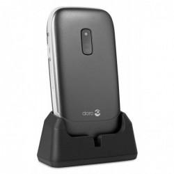 DORO Téléphone Portable Débloqué 2G Ecran: 2,4 Pouces 16 Mo Simple SIM Noir