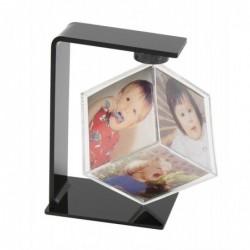 DEKNUDT Cube photo rotatif plastique 6x6x6