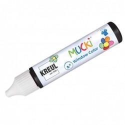 """KREUL Window Color Pen """"MUCKI"""", noir, 29 ml"""