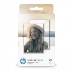 """HP Paquet de 20 feuilles HP Sprocket Plus Photo 2,3 x 3,4"""" / 5,8x8,7 cm"""