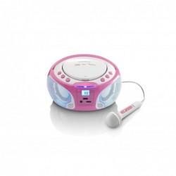 LENCO radios CD (FM, CD, CD-R, CD-RW, AC/Batterie, LCD) Rose