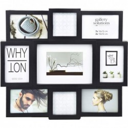 NIELSEN DESIGN Nielsen Why Not Collage noir plastique Galerie 8999334
