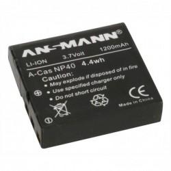 ANSMANN A-Cas NP 40 - batterie pour appareil photo / caméscope - Li-Ion
