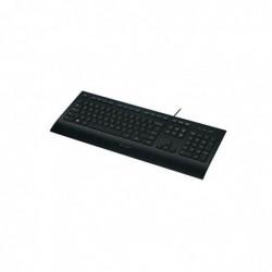 LOGITECH Clavier Filaire USB K280E AZERTY noir
