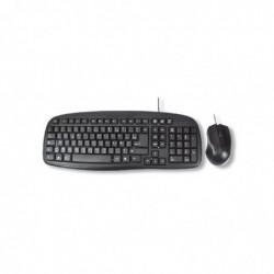MCL SAMAR Kit clavier + souris USB Azerty Noir