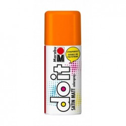 MARABU Peinture Aérosol Do it SATIN MATT 150 ml Orange