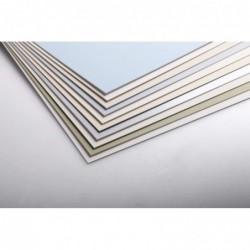CLAIREFONTAINE Paquet 10 Feuilles Contrecollés 1,25mm A3 Blanc