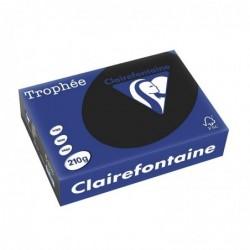 TROPHÉE Ramette 250 Feuilles Papier 210g A4 210x297 mm Certifié FSC  noir