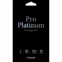 CANON PT-101 10x15 cm  50 feuil. Photo papier Pro Platinum 300 g