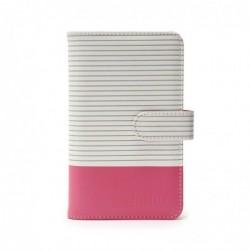 FUJIFILM Instax Mini 9 Striped Album flamingo pink 108 Bilder