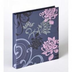 WALTHER Album Photo Grindy pour 400 photos 10x15 cm Gris Bleu