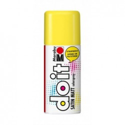 MARABU Peinture aérosol do it SATIN MATT 150 ml Jaune soleil